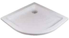 Zuhanytálca RONDA-80 LA white