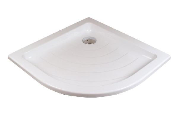 Zuhanytálca RONDA-90 LA white