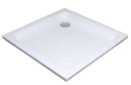 Zuhanytálca ANGELA-80 LA white