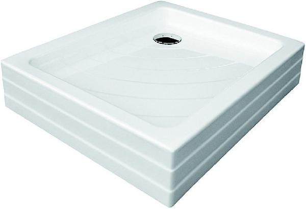 Zuhanytálca ANETA 75x90 LA white