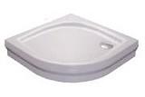 Zuhanytálca ELIPSO-80 PAN white