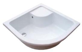Zuhanytálca SABINA-80 LA white