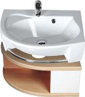SDU Rosa szekrény mosdó alá R Nyír/Fehér