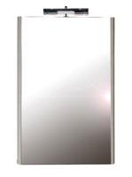 M 560 Nyír/Fehér Tükör beépített világítással