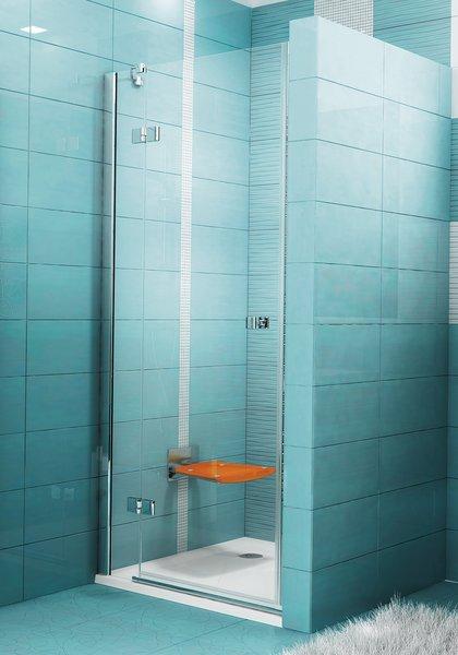 SmartLine SMSD2-90 A-L Króm+Transparent zuhanyajtó