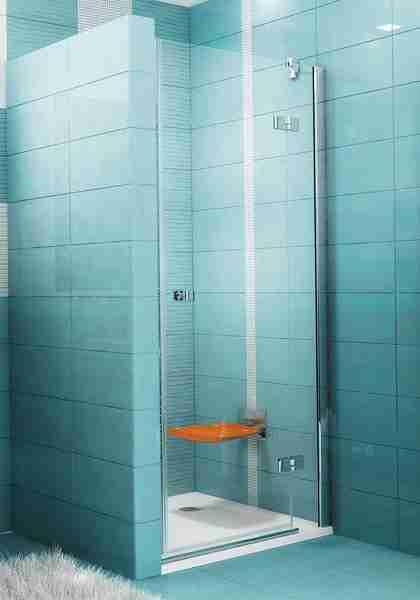 SmartLine SMSD2-90 B-R Króm+Transparent zuhanyajtó