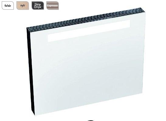 Classic 800 tükör a mosdó fölé Strip Onyx