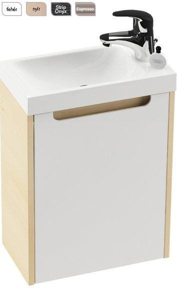 SD 400 Classic test a Mini mosdóhoz Fehér