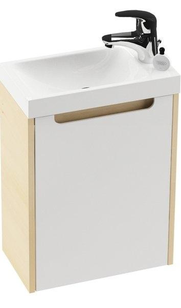 SD 400 ajtó a Classic Mini szekrényhez L fehér