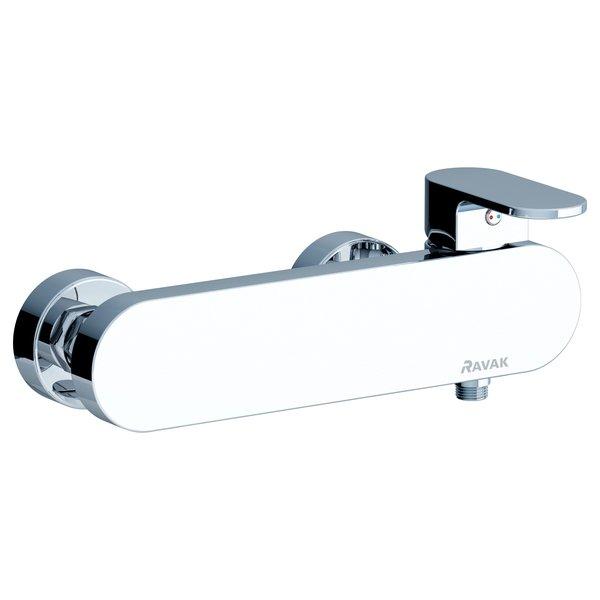 Ravak Chrome fali zuhanycsaptelep szett nélkül