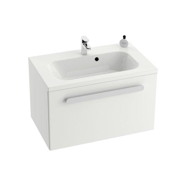 SD 700 Chrome szekrény a mosdó alá (fehér/fehér)