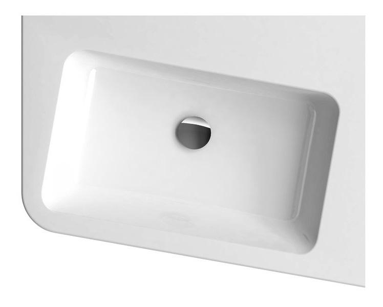 Mosdó 10° 550 R fehér nyílással