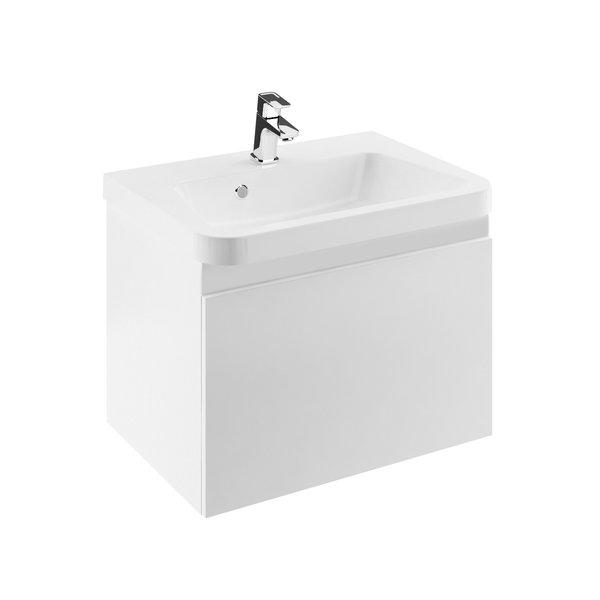Fürdőszobai szekrény mosdó alá SD 10° 550 sötét dió