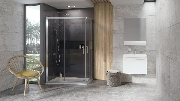 Ravak 10° 10AP4 zuhanykabin - 120/90 krómhatású + Transparent