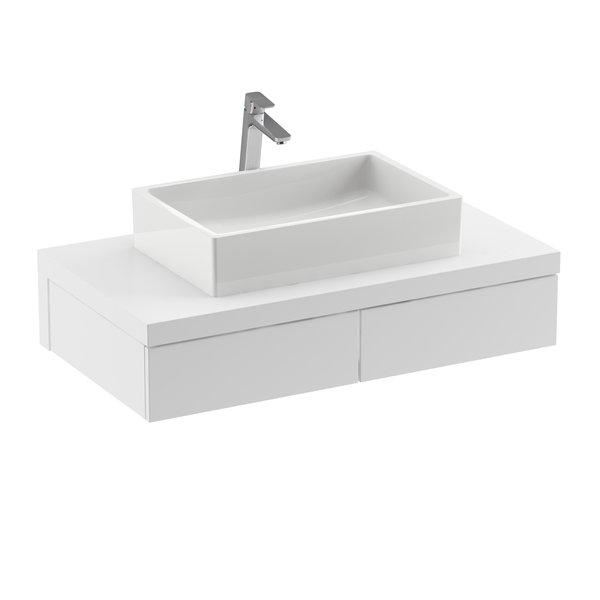 Ravak Formy mosdó alatti szekrény, SD Formy 1000 fehér