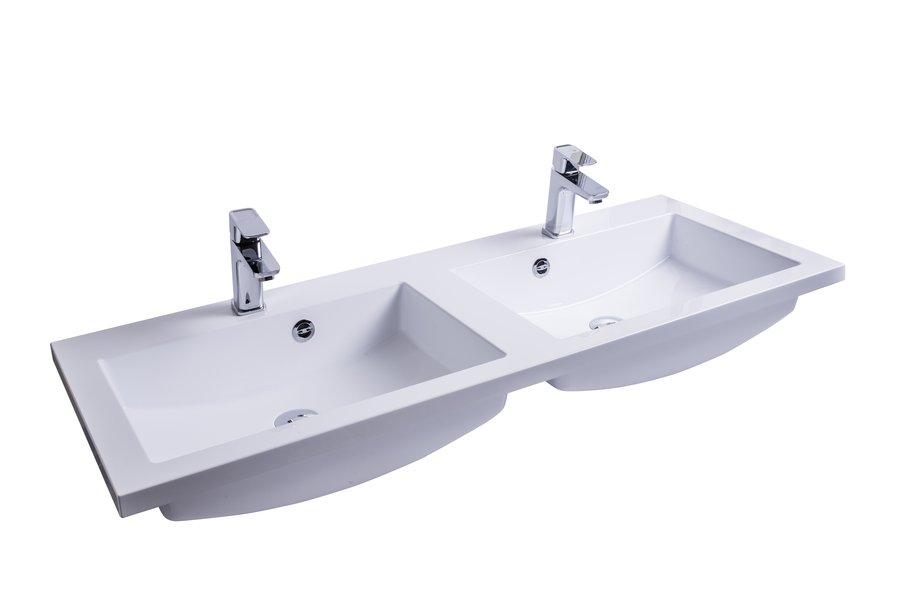 Comfort Duo 1200 duplamosdó (fehér) nyílással