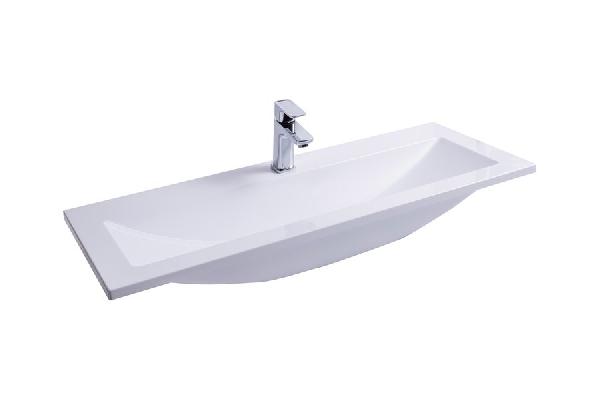 Clear Wall 1000 mosdó (fehér)